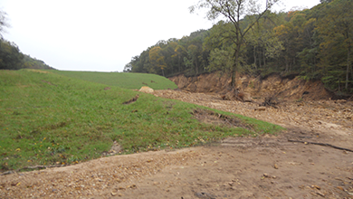 WinDAM - Overtopping and Internal Erosion for Earthen Embankments