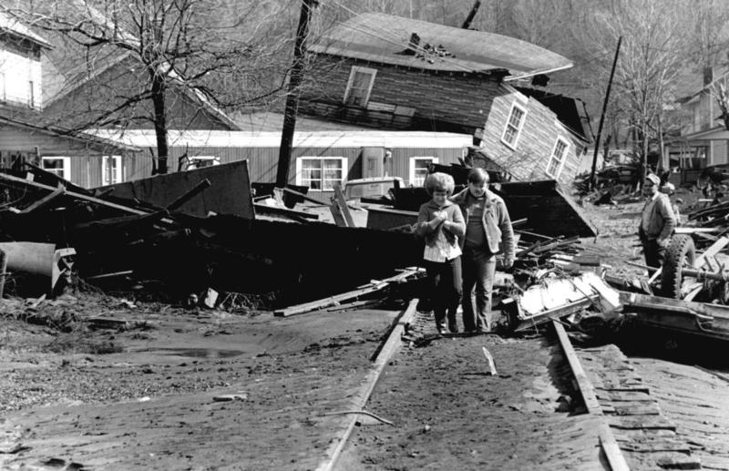 Buffalo Creek Valley - 1972