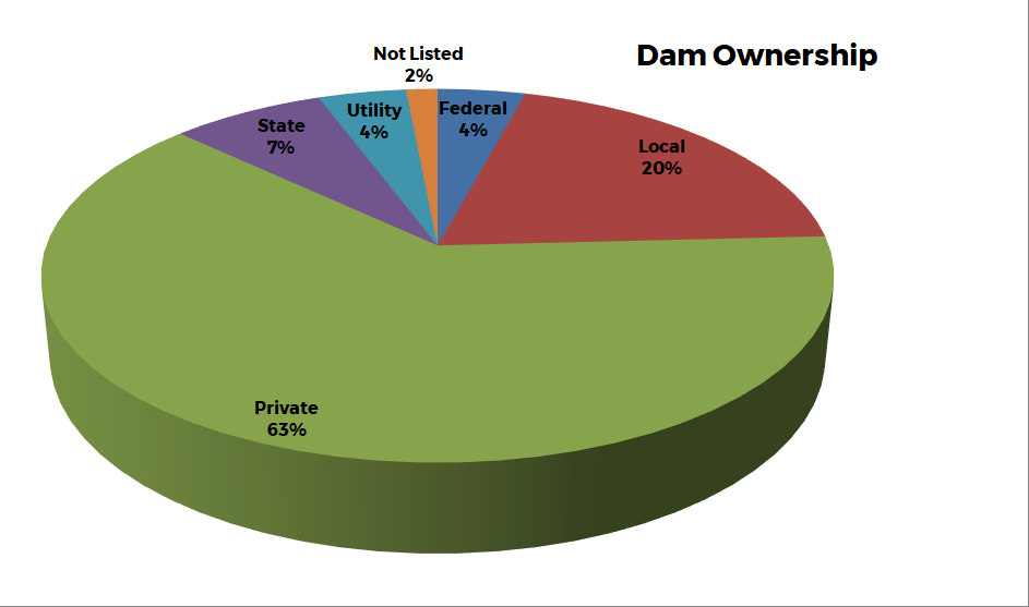 Graph 2 - Dam Ownership